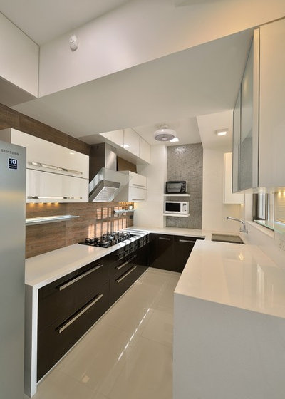 Modern Kitchen by Milind Pai Architects & Interior Designers