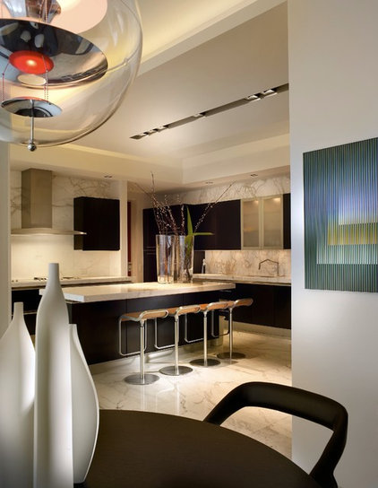 Contemporary Kitchen by Pepe Calderin Design- Modern Interior Design