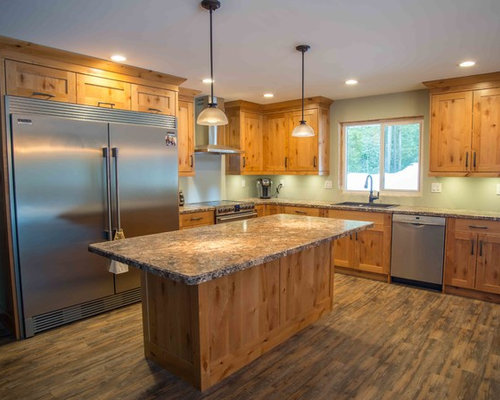 small rustic eatin kitchen inspiration inspiration for a small rustic lshaped