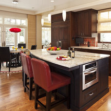 Eclectic Kitchen by L. Cramer Builders + Remodelers