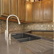 Contemporary Kitchen by Infistone - Concrete & Design