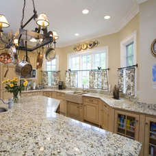 Traditional Kitchen by Cheryl D & Company