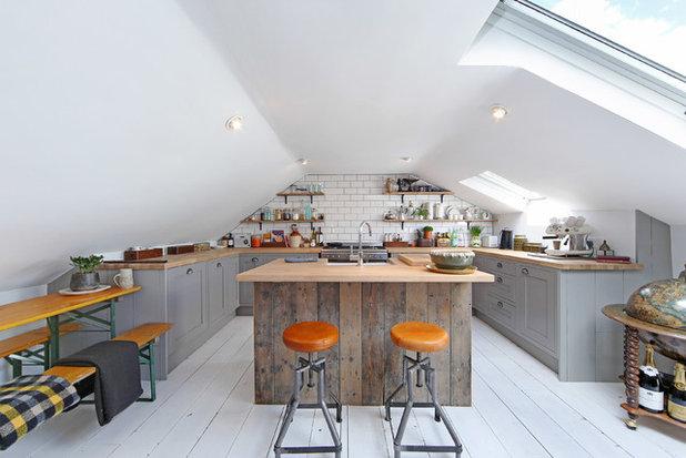 11 Einrichtungstipps Für Küchen Im Dachgeschoss – Mit Ausblick!