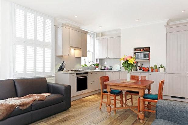 Transitional Kitchen by LWK Kitchens London