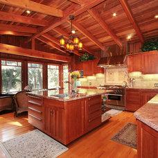 Craftsman Kitchen by Arroyo WoodWorks