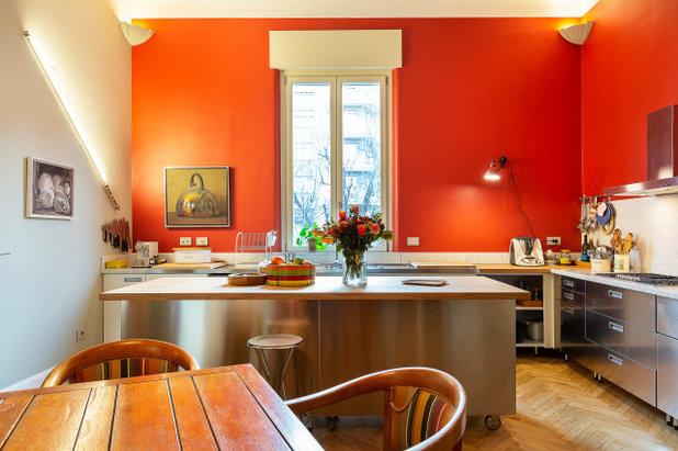 Eclettico Cucina by Giuliana Maffeis Architect