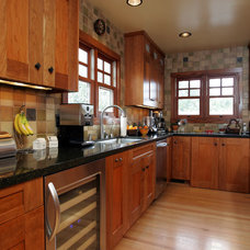 Asian Kitchen by Custom Design & Construction