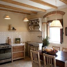 Farmhouse Kitchen by Lisa Gabrielson Design