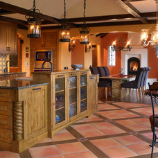 Southwestern Kitchen by The Sky is the Limit Design