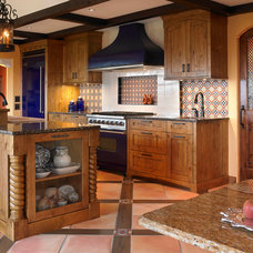 Mediterranean Kitchen by The Sky is the Limit Design
