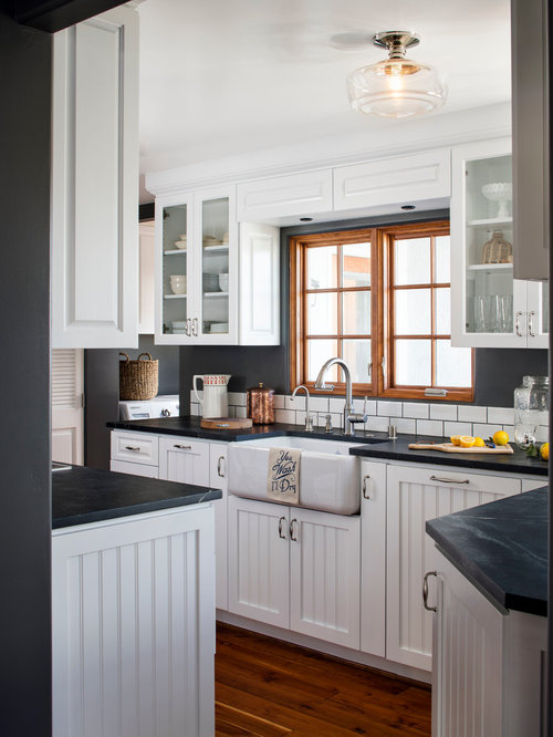 Best Refinishing Kitchen Cabinets Design Ideas & Remodel Pictures | Houzz
