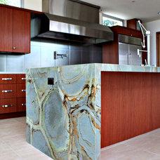 Modern Kitchen by Carey Hultgren Interior Design