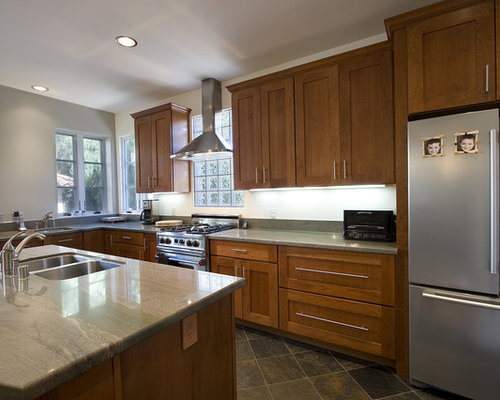 Granite Countertops Maple Cabinets | Houzz on Pictures Of Granite Countertops With Maple Cabinets  id=62187