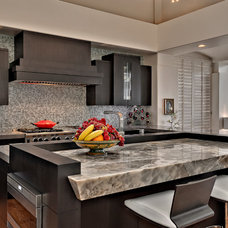 Contemporary Kitchen by Studio Stratton Inc