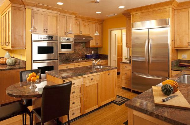 Contemporary Kitchen by Carol Spong Interior Design