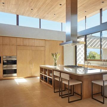 La Quinta Modernist Home - Kitchen
