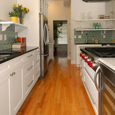 Transitional Kitchen by Case Remodeling