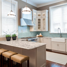 Transitional Kitchen by Tamsin Design Group
