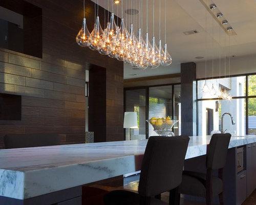 53 edison bulb chandelier Modern Kitchen Design Photos