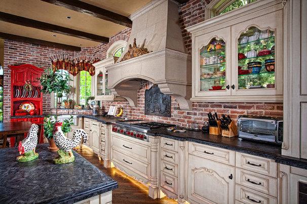 Mediterranean Kitchen by GRADY-O-GRADY Construction & Development, Inc.