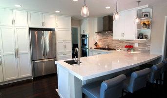 Laguna Niguel- White Transitional Kitchen Remodel