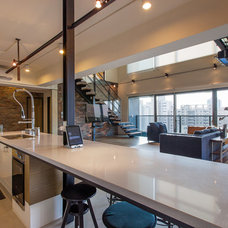 Contemporary Kitchen by PMK+designers