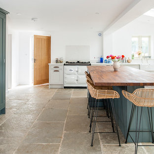 LAID BACK ENGLISH COUNTRY KITCHEN