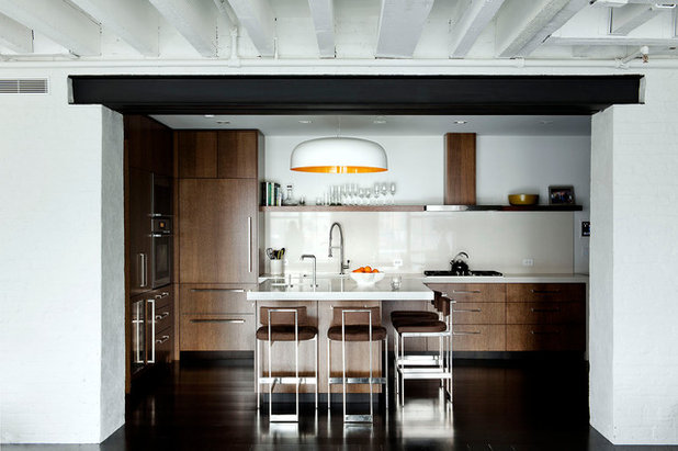 Industrial Kitchen by DHD Architecture and Interior Design