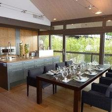 Contemporary Kitchen Lake Annecy Kitchen