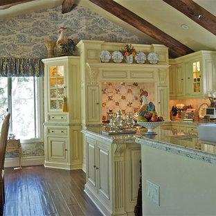 Lake Arrowhead Country French Kitchen