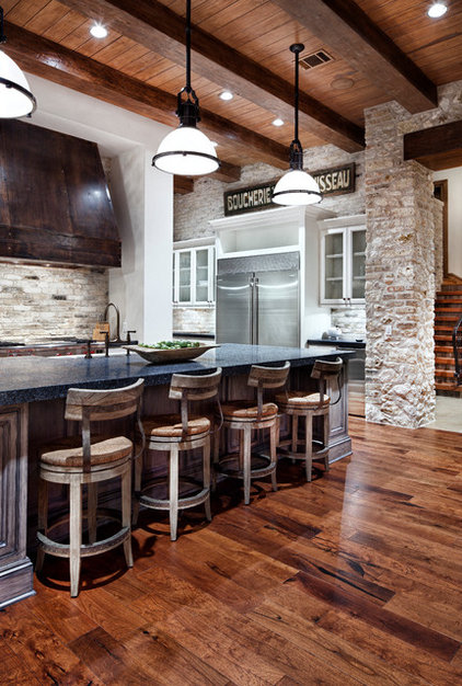 Traditional Kitchen Lake Austin