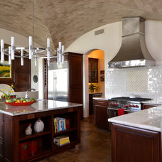 Transitional Kitchen by Refined Interiors LLC