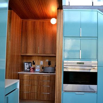 Lake Austin Residence - kitchen office niche