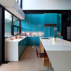 Modern Kitchen by Merzbau Design Collective