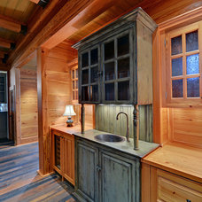 Rustic Kitchen by Envision Web