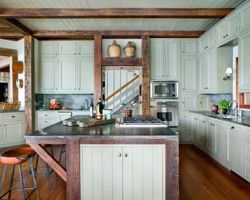 Rustic Kitchen Design Ideas & Remodel Pictures   Houzz