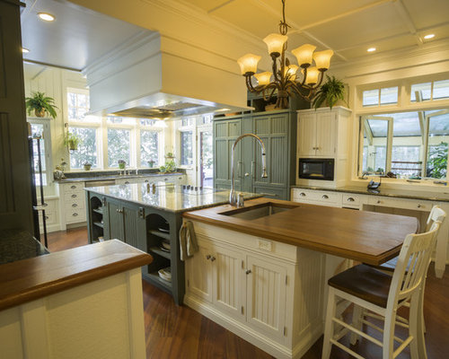 Yellow Kitchen With Black Appliances Design Ideas Remodel Pictures Houzz