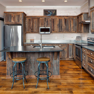 75 Beautiful Rustic Kitchen Pictures & Ideas | Houzz