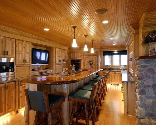 Pine Board Ceiling Houzz