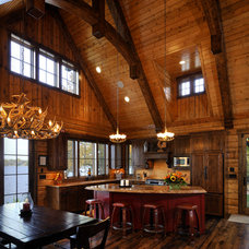 Kitchen by Lake Country Builders