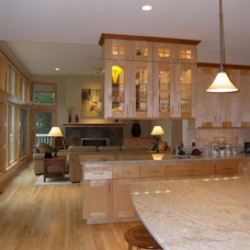 Traditional Kitchen by Architectural Homes by Anders Inc