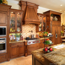 Mediterranean Kitchen by Nancy Short Interiors