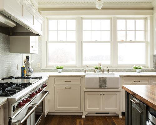 farmhouse sink with backsplash home design ideas pictures