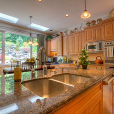 Traditional Kitchen by Cascade Cabinetry LLC