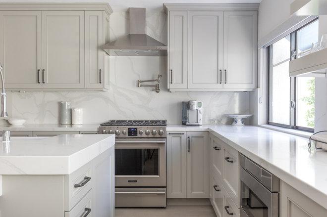 Transitional Kitchen by 27 Diamonds Interior Design
