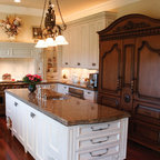 Knob Hill Espresso Shaker Kitchen Cabinets - Traditional ...
