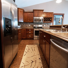 Traditional Kitchen by Ashley Construction
