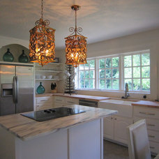 Eclectic Kitchen by Melinda Faranetta