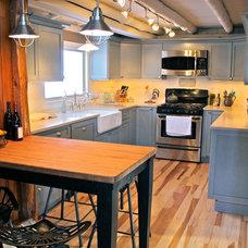 Rustic Kitchen by Merit Kitchens, MK Designs