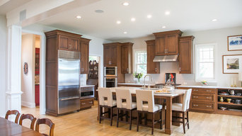 Lake House Prairie Style Kitchen and Bath Cabinetry